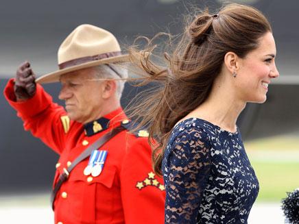 """""""מאושרים להיות בקנדה"""". בני הזוג המלכותיים (צילום: reuters)"""