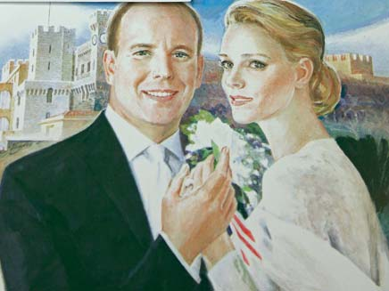 החתונה המלכותית במונקו