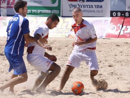 עומר אדם מכדרר, כפר סבא ניצחה 2:5 את תל אביב (צילום: מערכת ONE)