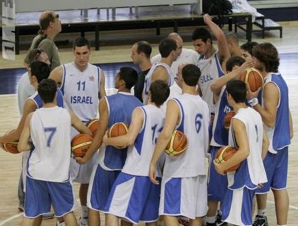 נבחרת הנוער בכדורסל (שי לוי) (צילום: מערכת ONE)