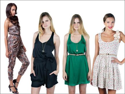 וואן פיס: שמלות או אוברולים לערב וליום (צילום: סטודיו רון קדמי)
