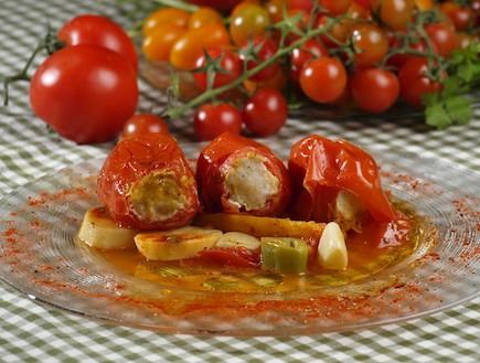 עגבניות ממולאות (צילום: שי שרף, גורמה בפיתה)