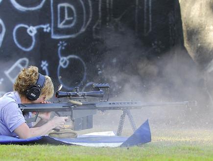 יורים ברובה צלפים בארט (צילום: צבא ארצות הברית, ויקיפדיה)