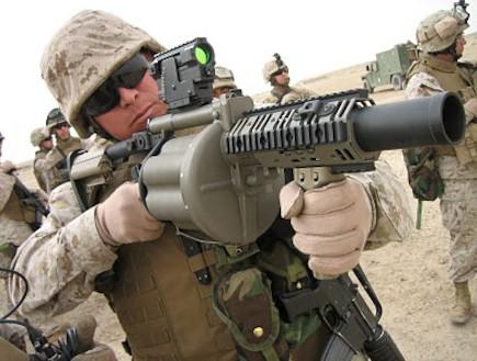 מטול רימונים M32 (צילום: צבא ארצות הברית, ויקיפדיה)