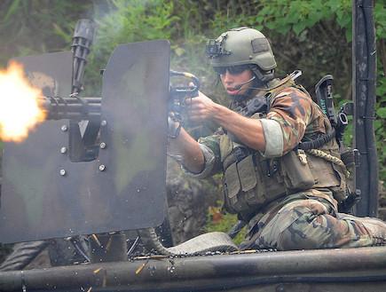 מכונת יריה מיניגאן (צילום: צבא ארצות הברית, ויקיפדיה)
