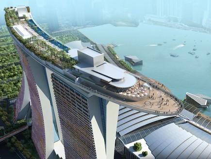 סימולציה סאנדס ביי סינגפור (צילום: האתר הרשמי)