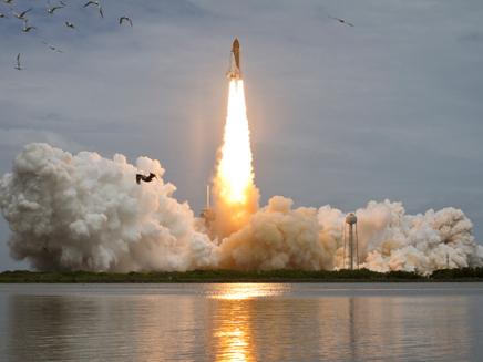 אטלנטיס - השיגור האחרון (צילום: חדשות 2)