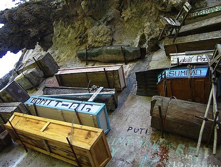 קברים תלויים - פיליפינים