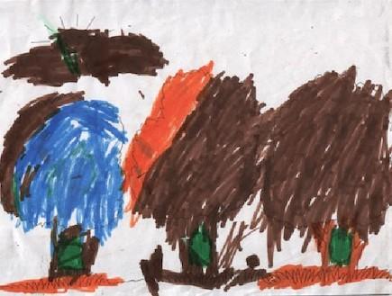 פענוח ציורי ילדים - ברק בן השבע (צילום: תומר ושחר צלמים)