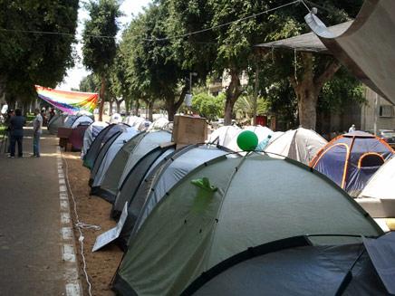 האוהלים ימשיכו להיות ברחובות (צילום: עזרי עמרם, חדשות 2)