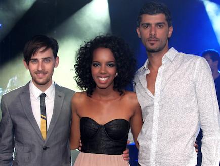 שלישיית הגמר - חגית, לירון ודוד (צילום: אורטל דהן)