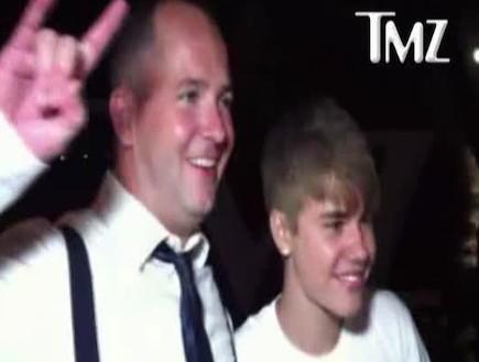 ג'סטין ביבר זמר החתונות (וידאו WMV: mako)