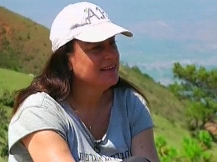רונה רמון בסין (צילום: חדשות 2)