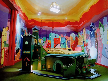 חדר הטירה - חדרי נושא