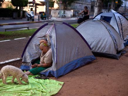 אוהלים - ואוהבים? (צילום: רויטרס)