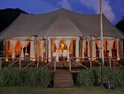 אוהל קו-יאו איילנד ריזורט תאילנד (צילום: האתר הרשמי)
