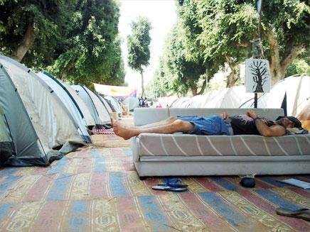מחאת האוהלים. ארכיון (צילום: עזרי עמרם, חדשות 2)