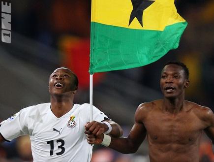 פנסטיל ואיוו בנבחרת גאנה (GettyImages) (צילום: מערכת ONE)