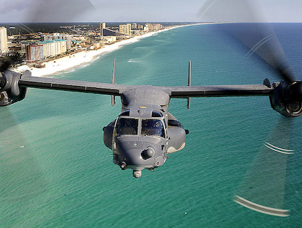 V-22 Osprey  (צילום: צבא ארצות הברית, ויקיפדיה)