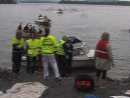 רגעים לאחר הפיגוע בנורווגיה (צילום: חדשות 2)