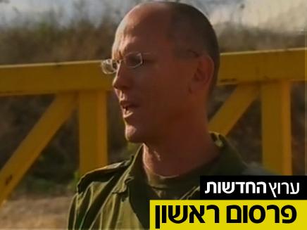 """תא""""ל אלון במפגש נדיר עם הרבנים (צילום: חדשות 2)"""