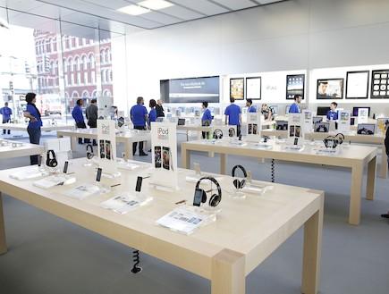 """חנות אפל בשיקגו, ארה""""ב (צילום: Brian Kersey, GettyImages IL)"""