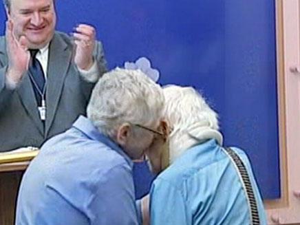 זוג חד מיני ראשון נישא בניו יורק (צילום: CNN)