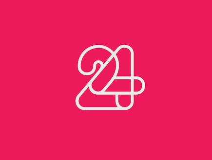 לוגו חדש 24 (צילום: mako)