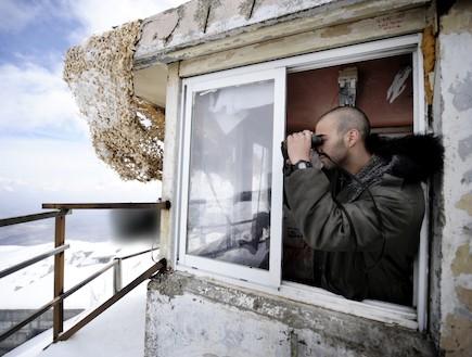 """בסיס החרמון (צילום: אורי שיפרין, אתר צה""""ל)"""