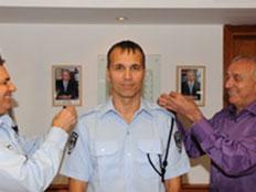 הלל פרטוק מתמנה לדובר המשטרה. ארכיון (צילום: דוברות משטרת ישראל)
