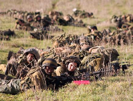 """חיילי גולני באימון  (צילום: איתי כהן, אתר צה""""ל)"""
