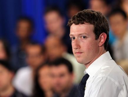 """מארק צוקרברג מנכ""""ל ומייסד פייסבוק (צילום: Sean Gallup, GettyImages IL)"""
