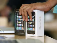 אייפון (צילום: Justin Sullivan, GettyImages IL)