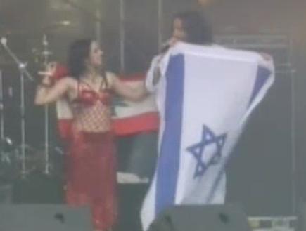 ג'וואנה פחרי, רקדנית לבנונית, קובי פרחי, אורפנד לנ (צילום: חדשות 2)
