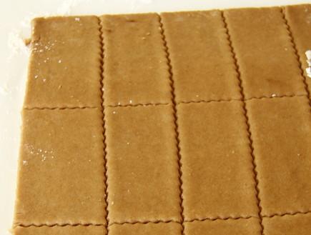 קסטה ביתית של שירלי נמש - בצק לביסקוויטים חתוך (צילום: חן שוקרון, מתוקים שלי)