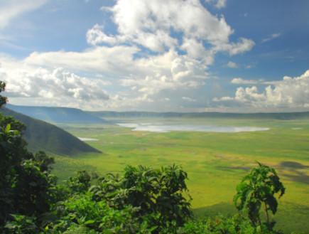 קלדרת הנגורונגו, טנזניה (צילום: Brian Raisbeck, Istock)