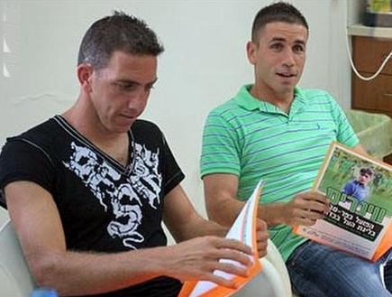 בן לוז ואלון חלפון. נעצרו בחשד להלבנת הון (צילום: מערכת ONE)