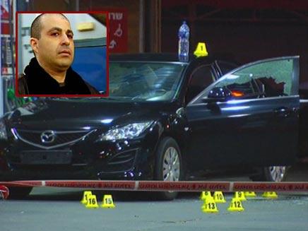 זירת הרצח של פרנסואה אבוטבול, אמש (צילום: חדשות 2)