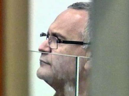 לפיד. חשוד בהטרדת עדים במשפט קצב (צילום: חדשות 2)