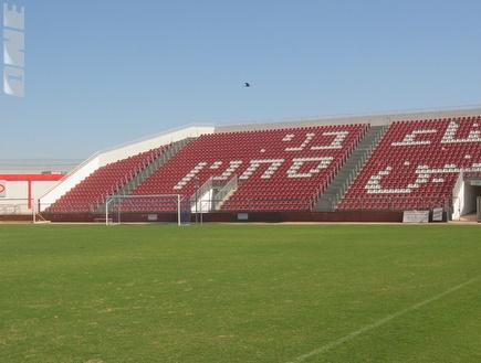 אצטדיון דוחא. עדיין לא אושר למשחק מול הפועל חיפה (צילום: מערכת ONE)