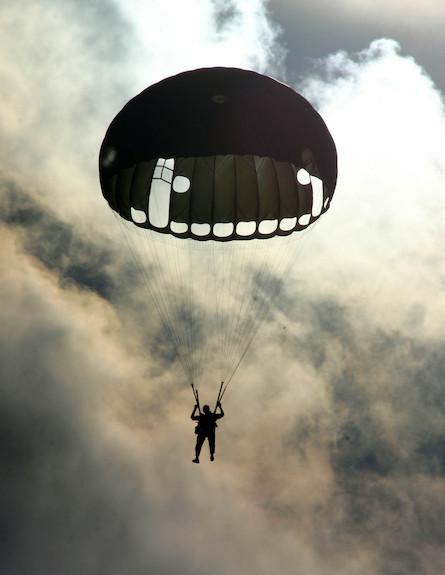"""צנחן (צילום: דובר צה""""ל, באדיבות גרעיני החיילים)"""