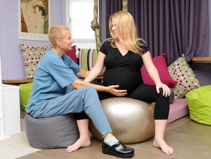 """לפני הלידה - בית חולים """"ליס"""" ליולדות (צילום: בית חולים """"ליס"""" ליולדות)"""