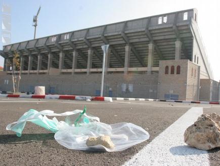 דוחא. הפעם האצטדיון ברעננה לא אושר  (עמית מצפה) (צילום: מערכת ONE)