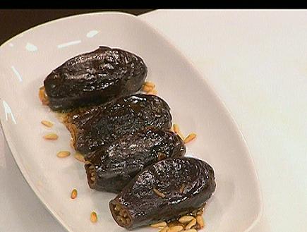 חצילונים בלאדי ממולאים ברוטב שחור (תמונת AVI: mako)