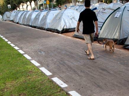 מחאת האוהלים בתל אביב (צילום: AP)