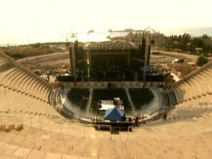 קיסריה - היכל התהילה של התרבות הישראלית (צילום: חדשות 2)