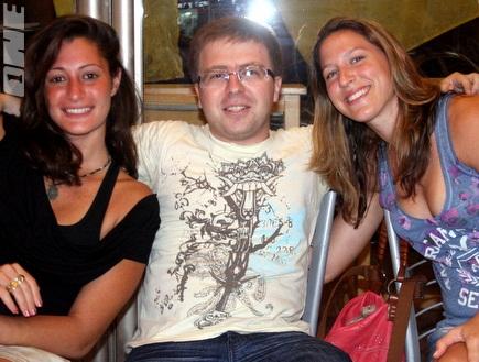 רוני בן נון סשה ושירלי שבתאי (משה חרמון) (צילום: מערכת ONE)