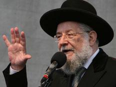 הרב ישראל מאיר לאו בטור מיוחד