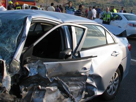 תאונת דרכים. ארכיון (צילום: חדשות 2)
