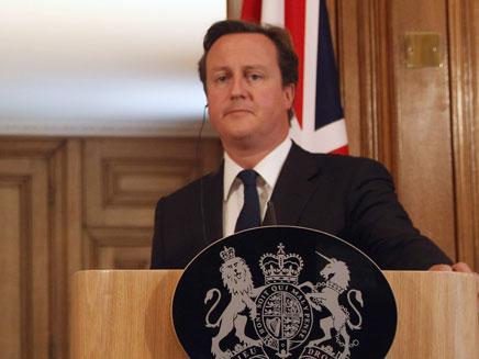 דיויד קמרון - ראש ממשלת בריטניה (צילום: חדשות 2)